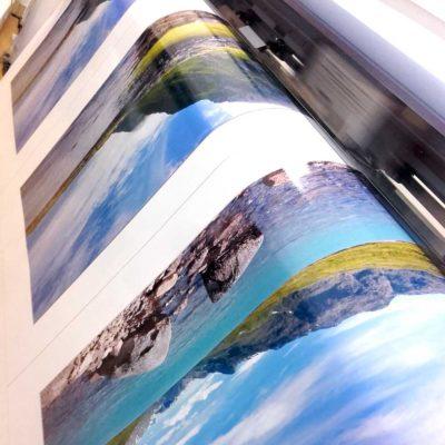 Tisk fotografií, následný ořez a rámování