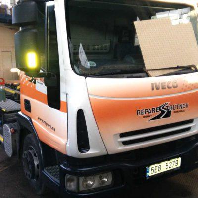 Polep vozu Iveco - Repare Trutnov