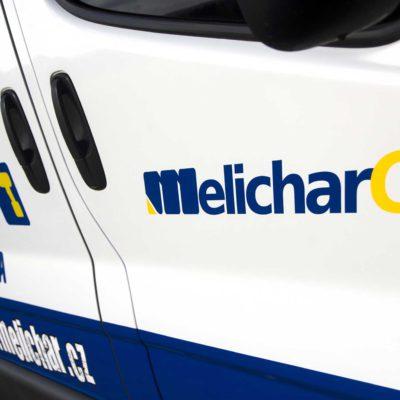 Melichar CZ - polep vozu